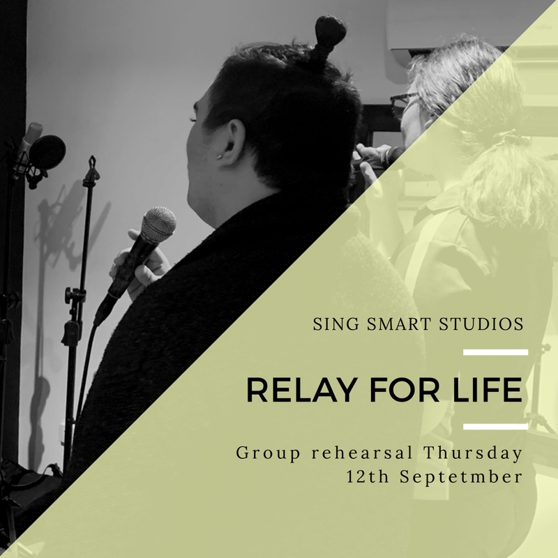 Group Rehearsal - Relay For Life